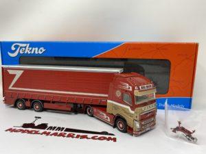 """Volvo FH04 Globetrotter XL """"Zampieri"""" Centinato 1:50   Tekno 68763"""
