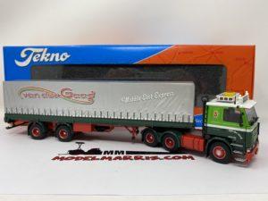 Scania 142 Van der Gaag telonato Bilico 1:50 | Tekno 71345