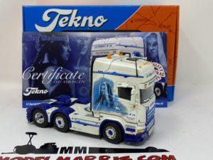 "Scania R-Streamline Topline ""Beljaars L. & Zn."" Trattore stradale 1:50 | Tekno 68628"