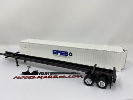 "Semirimorchio portacontainer 53 Ft. ""EPES"" 1:53 