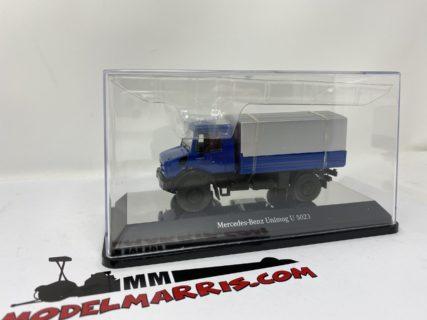 "Mercedes-Benz Unimog U5000 ""blu"" Trattore stradale 1:50 | Nzg 9111/20"