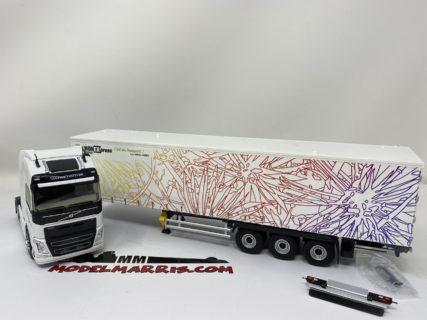 Volvo FH 4 Globetrotter – Phone Express – Hugo Cesto Telonato 1:43 | Eligor 116409