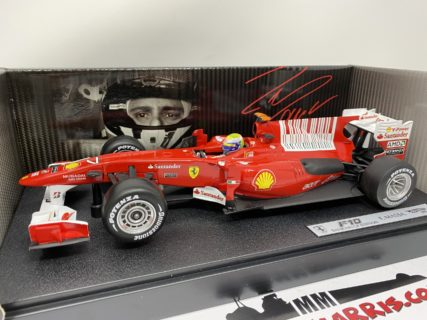 MATTEL HOT WHEELS – FERRARI – F1 F10 N 7 GP BAHRAIN 2010 FELIPE MASSA