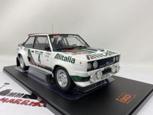 IXO-MODELS – FIAT – 131 ABARTH ALITALIA N 4 WINNER RALLY PORTUGAL 1978 M.ALEN – L.KIVIMAKI