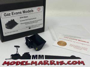 Benna fossi Eurosteel 25-35 Ton 1:50 | GE Models GF-44B gaz Evans
