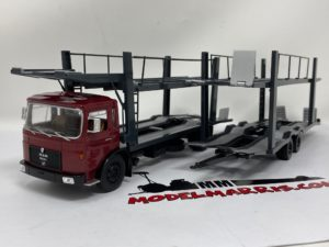 IXO-MODELS – MAN – 19.320 TRUCK CAR TRANSPORTER 1970 1/43