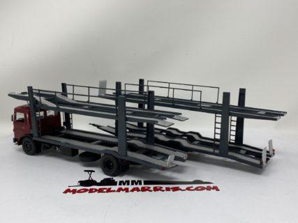 IXO-MODELS – MAN – 19.320 TRUCK CAR TRANSPORTER 1970 1/43