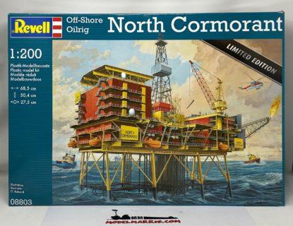 REVELL 08803 – Piattaforma estrazione – North Cormorant – Limited edition – 1/200
