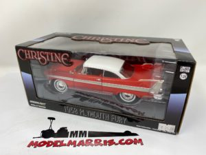 GREENLIGHT – PLYMOUTH – FURY 2-DOOR 1958 – BLACK WINDOWS – EVIL VERSION – CHRISTINE LA MACCHINA INFERNALE