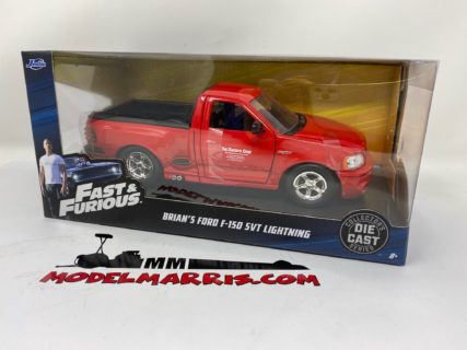 JADA – FORD USA – BRIAN'S F-150 SVT PICK-UP LIGHTNING THE RACER EDGE 1999 – FAST & FURIOUS I (2001) 1/24