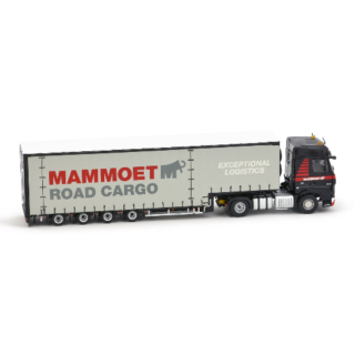 Mammoet Actros 4×2 + 4 axle Meusburger -1/50 * Imc *