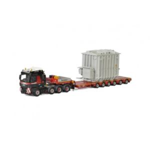 Mammoet MAN TGX XXL + lowloader 6 axle + trafo – WSI – 410221 – 02-2030 – 1:50