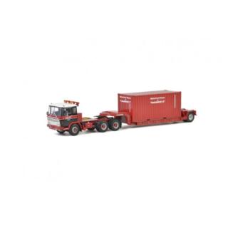 Mammoet ; Van Seumeren DAF 2600 + lowloader + container – WSI – 410332 – 02-2159 – 1:50