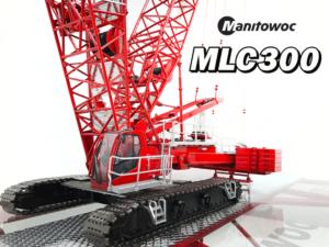 *PREORDINE MAIL* TOS006 Manitowoc MLC300 Lattice-Boom Crawler Crane with VPC™ 1/50 WEISS BROTHER