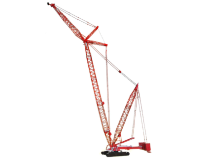*PREORDINE MAIL* TOS006 Manitowoc MLC300 Lattice-Boom Crawler Crane with VPC™ 1/50 WEISS BROTHER