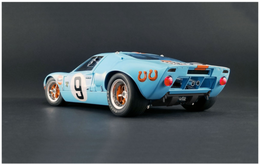 ACME-MODELS – FORD USA – GT40 4.9L V8 TEAM JW AUTOMOTIVE ENGINEERING GULF N 9 WINNER 24h LE MANS 1968 L.BIANCHI – P.RODRIGUEZ