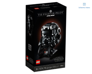 LEGO 75274 – STAR WARS – Casco da Pilota di TIE Fighter