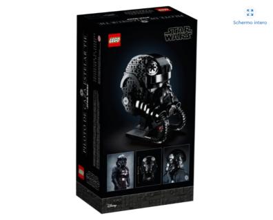 LEGO 75274 – STAR WARS – Casco da Pilota di TIE Fighter