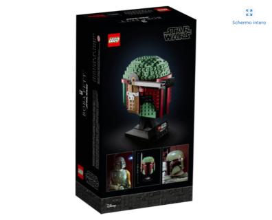 *IN ARRIVO* LEGO 75277 Star Wars – Casco di Boba Fett
