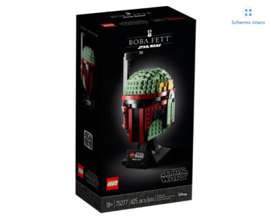 LEGO 75277 Star Wars – Casco di Boba Fett