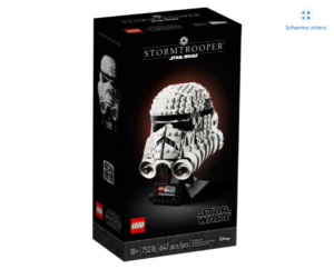 LEGO 75276 Star Wars – Casco di Stormtrooper