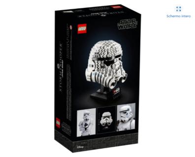 *IN ARRIVO* LEGO 75276 Star Wars – Casco di Stormtrooper
