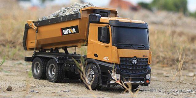 HUINA – CH1582 – Camion da cava in METALLO – 1/14 – rc 2,4ghz