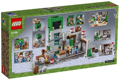 LEGO 21155 Minecraft – La Miniera del Creeper