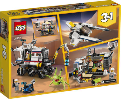 LEGO 31107 LEGO Creator – Il Rover di esplorazione Spaziale