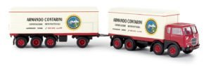 BREKINA PLAST – FIAT – 690 TRUCK MILLEPIEDI 4-ASSI ESPORTAZIONE ORTOFRUTTICOLI CONTARINI 1961 – 1/87