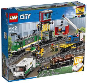 LEGO 60198 LEGO City Trains – Treno merci