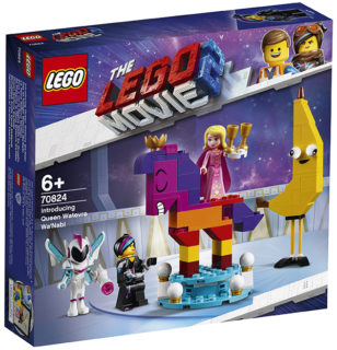 LEGO 70824 LEGO Movie 2 – Ecco a voi la Regina Wello Ke Wuoglio