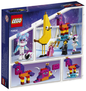 LEGO 70824 LEGO Movie 2 – Ecco a voi la Regina Wello Ke Wuoglio