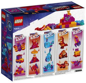 """LEGO 70825 LEGO Movie 2 – La scatola """"costruisci quello che vuoi"""" della Regina Wello Ke Wuoglio!"""