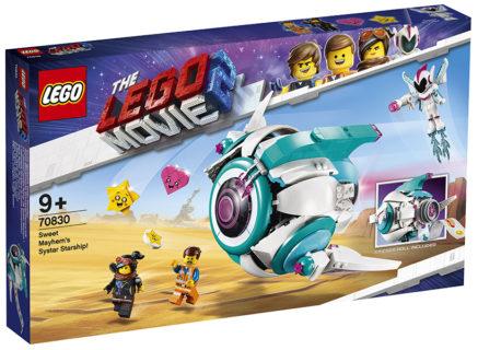 LEGO 70830 LEGO Movie 2 – L'astronave Sorellare di Dolce Sconquasso!