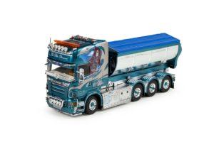 Scania R5 Topline con container asfalto – Denny D Frakt – TEKNO 71130 – 1/50 – limited 160 pz