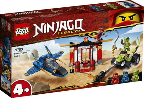 LEGO 71703 Ninjago – Battaglia sullo Storm Fighter