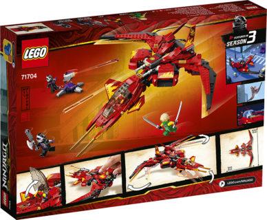 LEGO 71704 Ninjago – Fighter di Kai