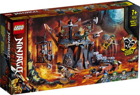 LEGO 71717 Ninjago – Viaggio nelle Segrete dei Teschi