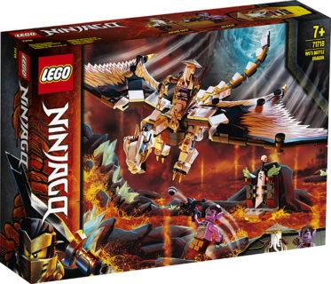 LEGO 71718 Ninjago – Dragone da battaglia di Wu