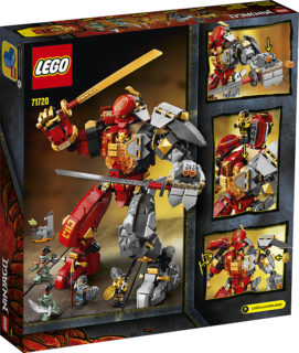 LEGO 71720 Ninjago – Mech Pietra-Fuoco