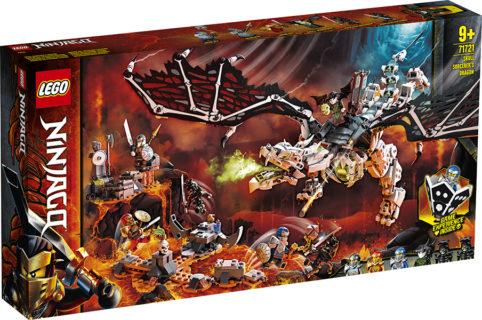 LEGO 71721 Ninjago – Drago dello Stregone Teschio