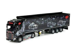 Scania S-serie with Cargo floor trailer – Repinski – Sin City – TEKNO 72777 – 1/50