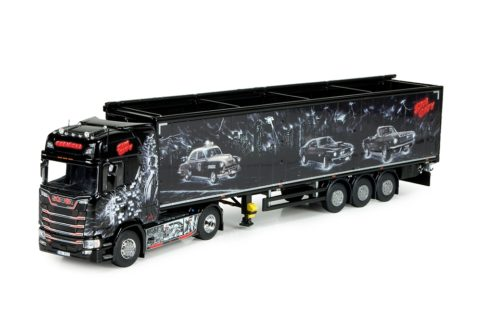 Scania S-serie with Cargo floor trailer – Repinski – Sin City – TEKNO 72777 – 1/50