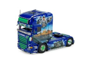 HP Transped – VALENTINO ROSSI – Scania R-Streamline Topline 4×2 – TEKNO – 74013