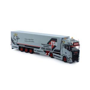 Scania NGS S-serie Highline met koeloplegger – JENS BODE – 1/50 – TEKNO – 75100