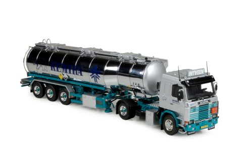 Scania serie 3 Topline tank trailer Kees in't Vent – Kemira – Tekno – 1/50