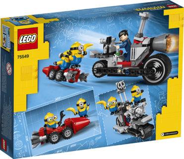 LEGO 75549 LEGO Minions – Moto da inseguimento