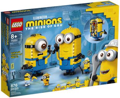 LEGO 75551 LEGO Minions – Personaggi Minions e la loro tana