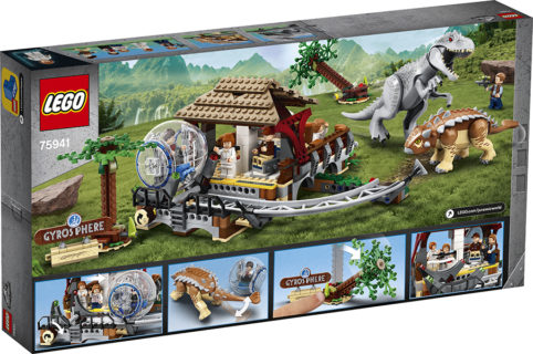 LEGO 75941 LEGO Jurassic World – Indominus Rex contro Ankylosaurus